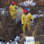 Gasoline Spill Cleanup