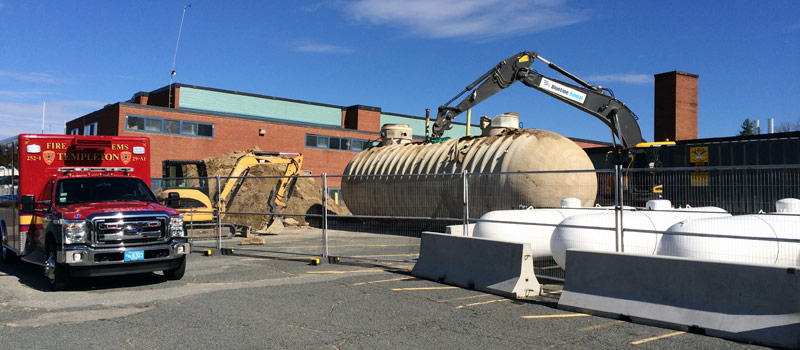 Massachusetts Tank Removal Services