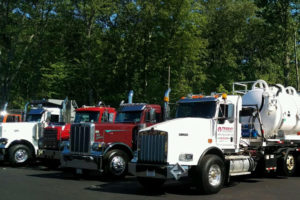 Trident participated in a truck show to raise money for ALS
